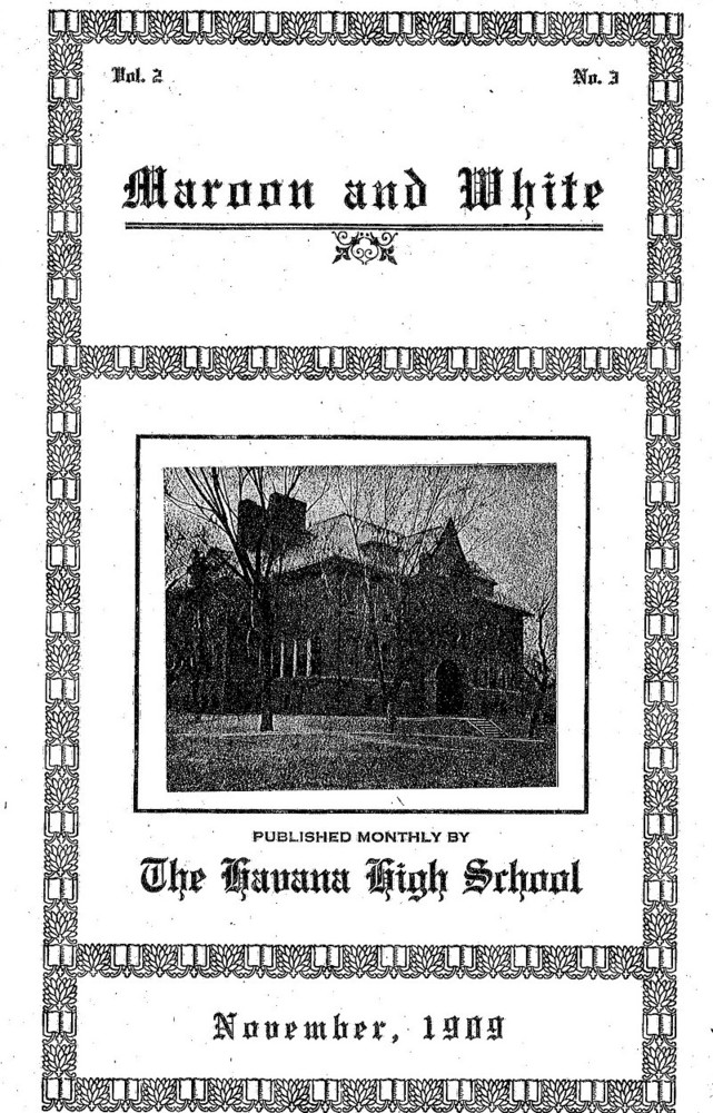 Early 1900's HHS Publications