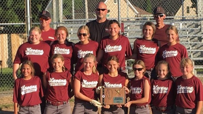 JH Softball Regional Champs
