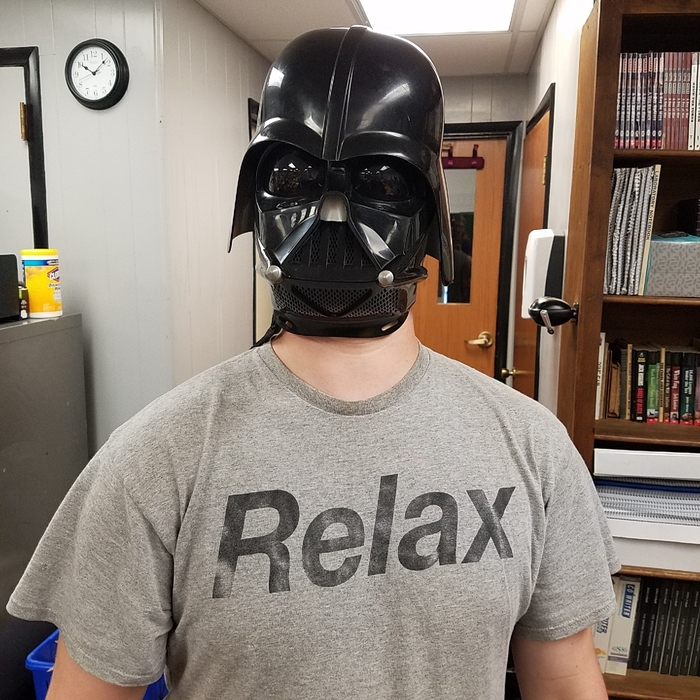 Ironic shirt for Vader