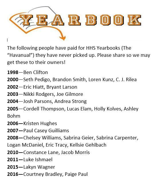 Sold Yearbooks