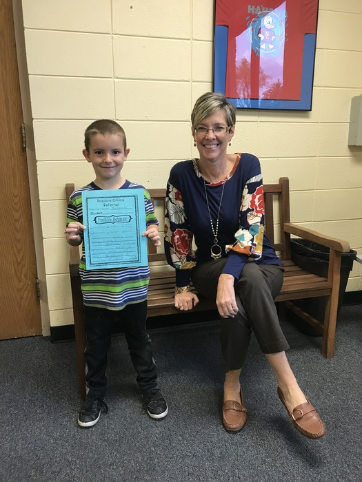 JJ Rushton positive office referral