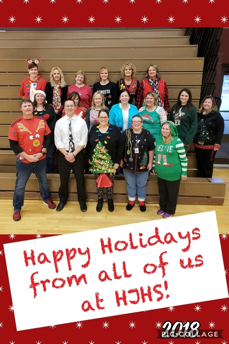 Staff Ugly Sweater Day