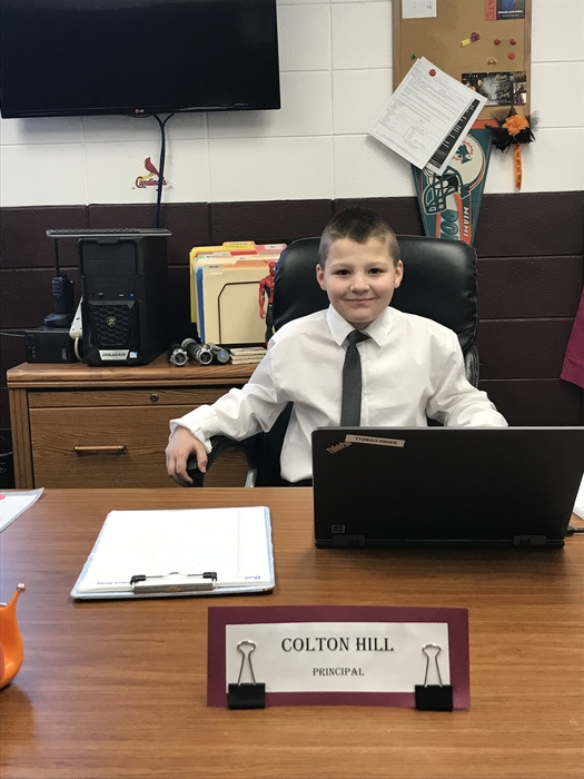 Mr. Colton Hill, Principal
