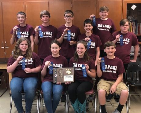 HJHS Scholastic Bowl 2019 - Regional Champs