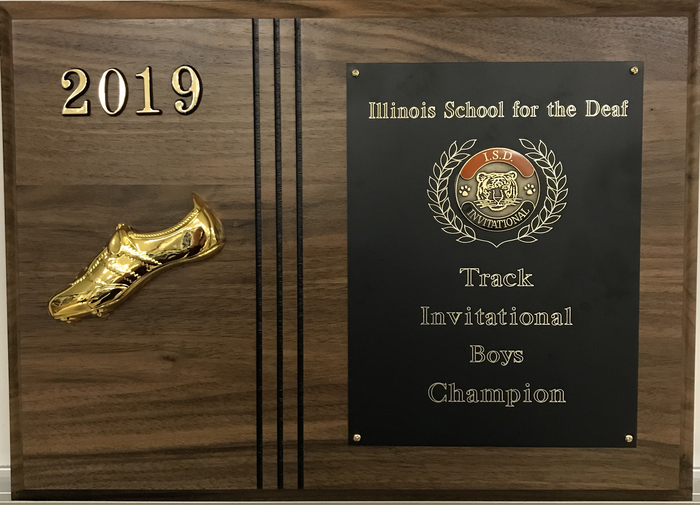 HHS Boys Track- 1st Place ISD Invitational