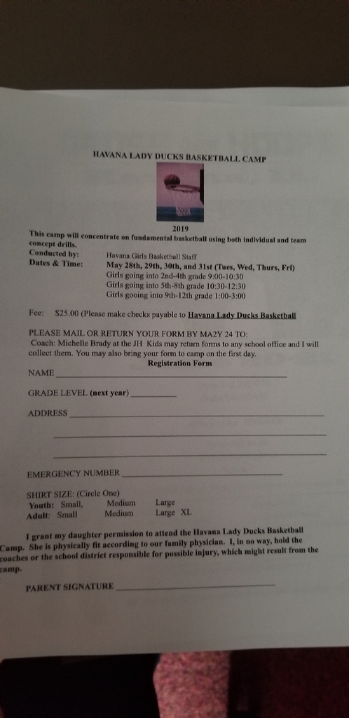 lady duck bball camp