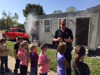 1st grade fire safety