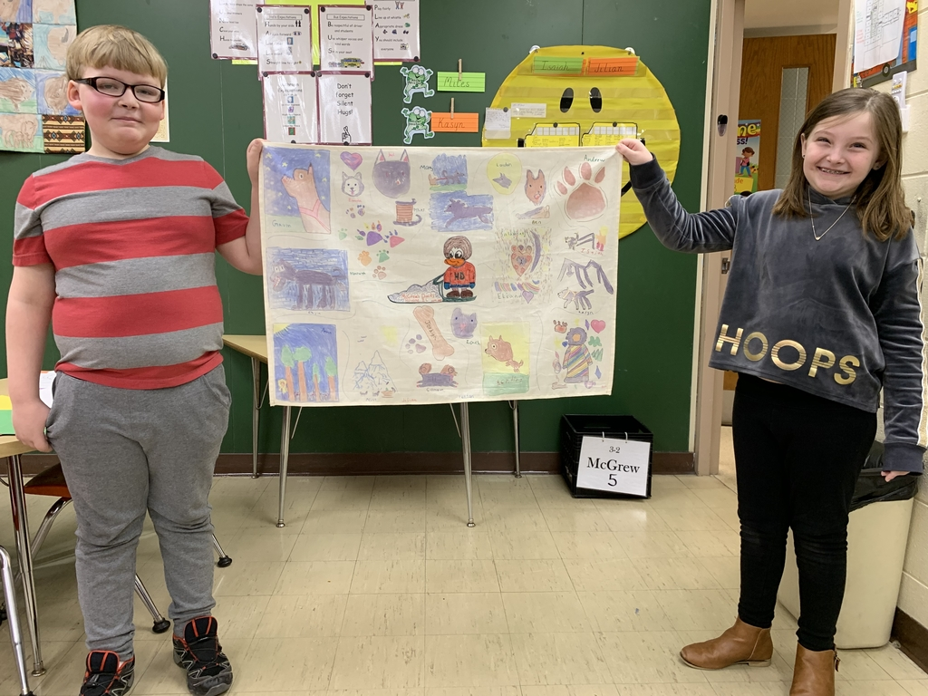 McGrew's Ducks have created a flag that will be waved at the official start of the Iditarod in Willow, Alaska.  The flag will also get an honorary ride with a dog team.