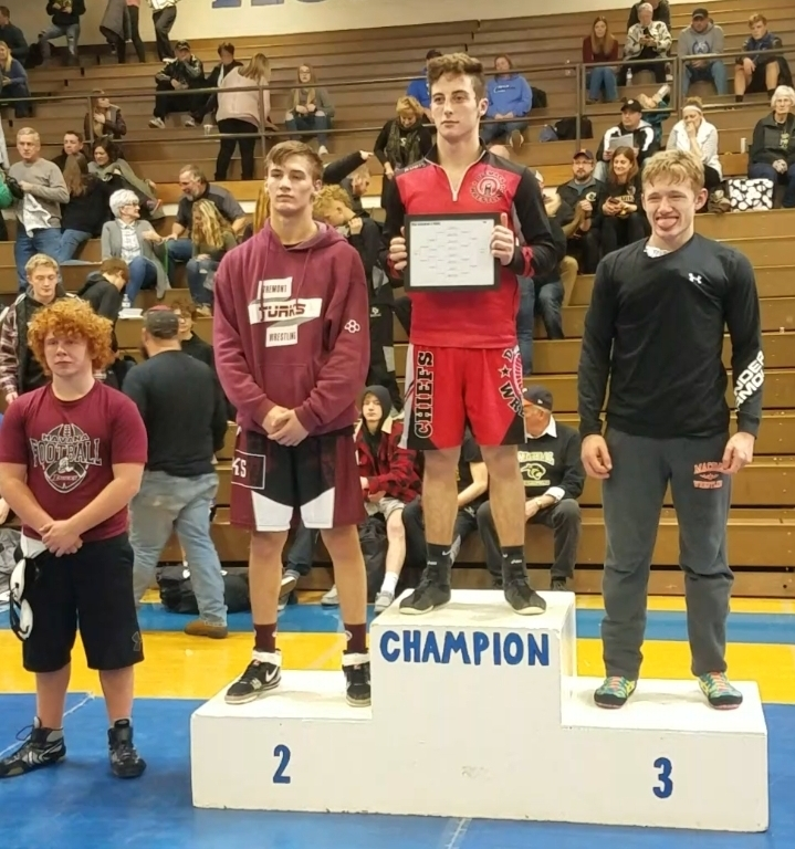 2020 170 Regional 4th place: Jacob (Curly) Waymire