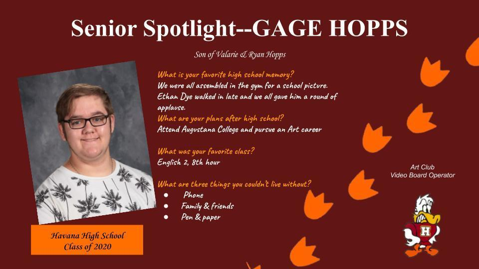 Gage H